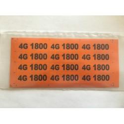 4,5G LTE 1800 Feeder Marking Kablo İşaretleme